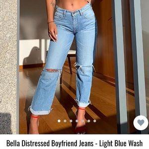 BRAND NEW!!!! Size 7 Boyfriend jeans